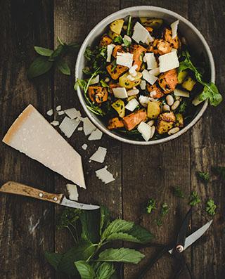 Kartoffelsalat mit Kräuteröl